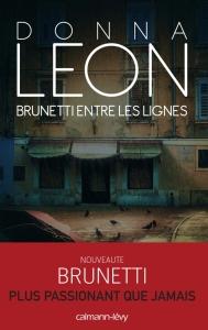 Brunetti entre les lignes - Donna Leon - Calmann Lévy